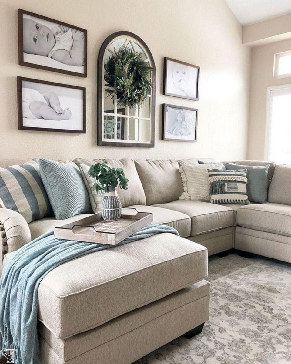 Admirable Farmhouse Living Room Decor Ideas 40