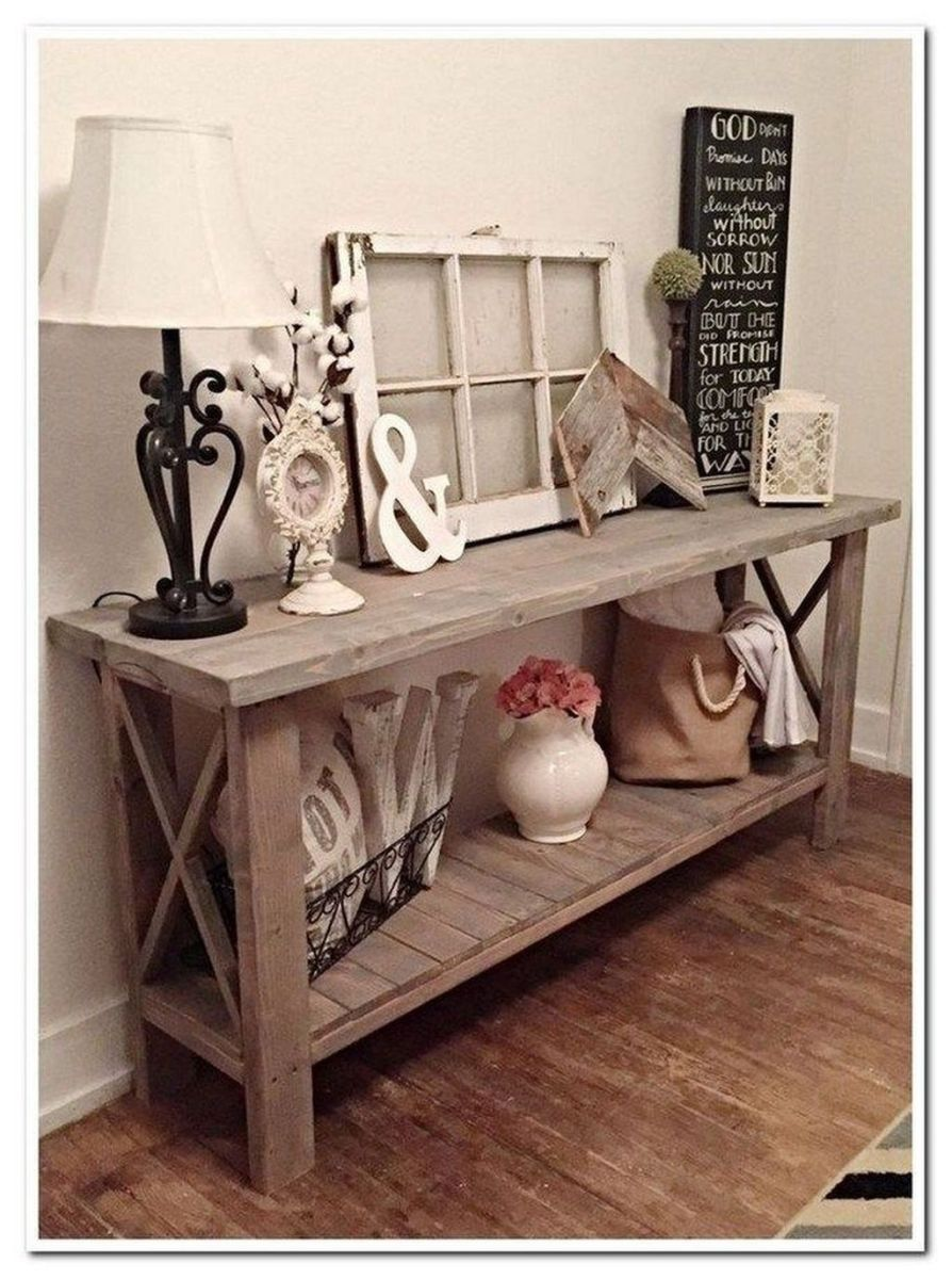 Amazing Sofa Table Decor Ideas You Should Try 07