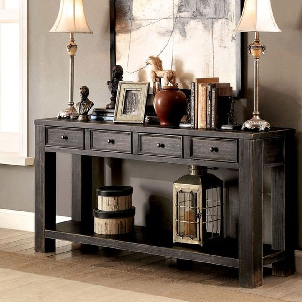 Amazing Sofa Table Decor Ideas You Should Try 09