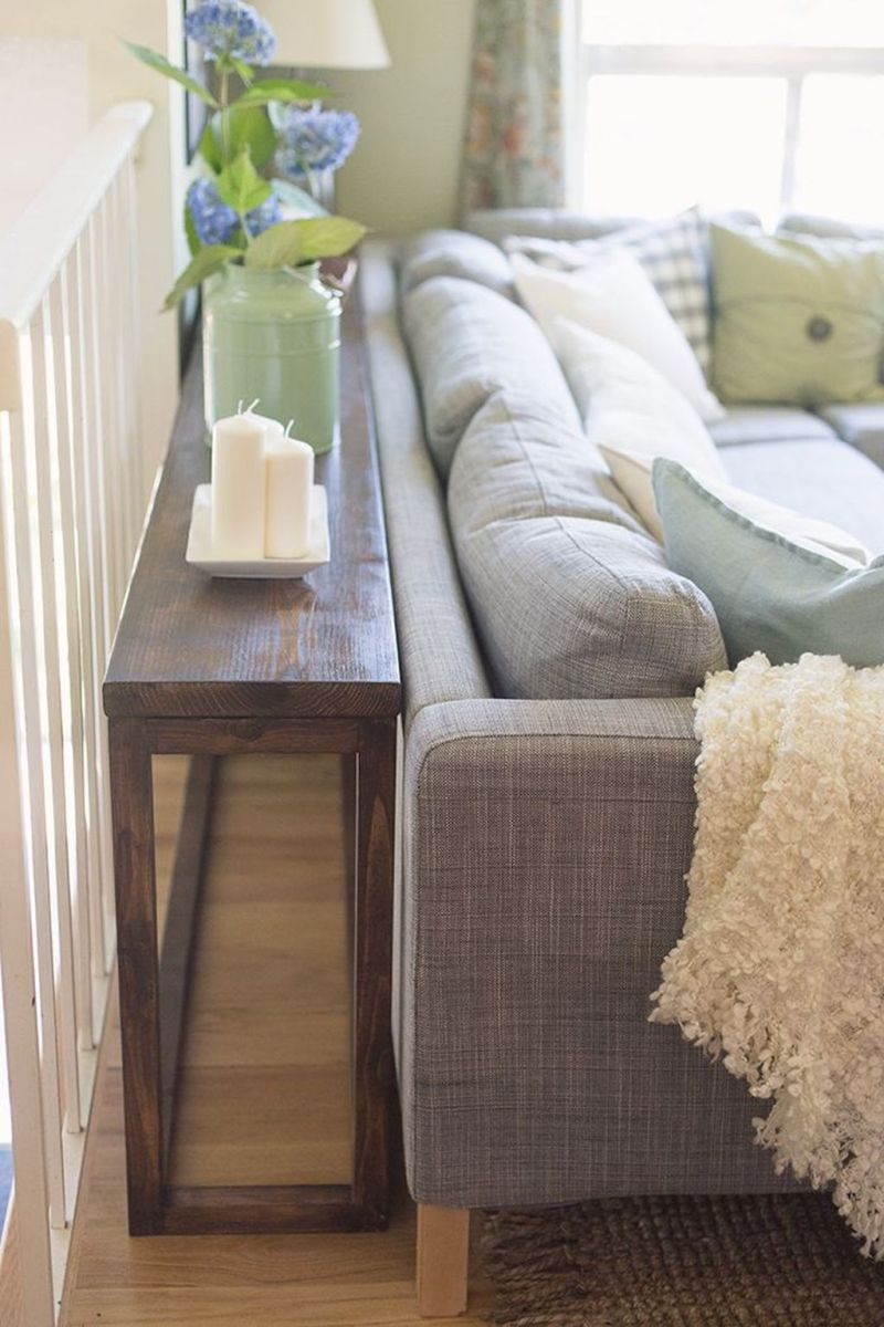 Amazing Sofa Table Decor Ideas You Should Try 11