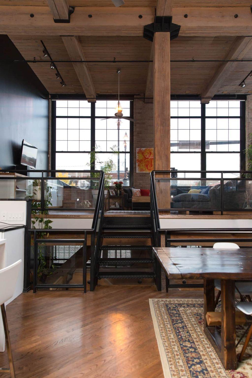 Awesome Loft Apartment Decorating Ideas 01