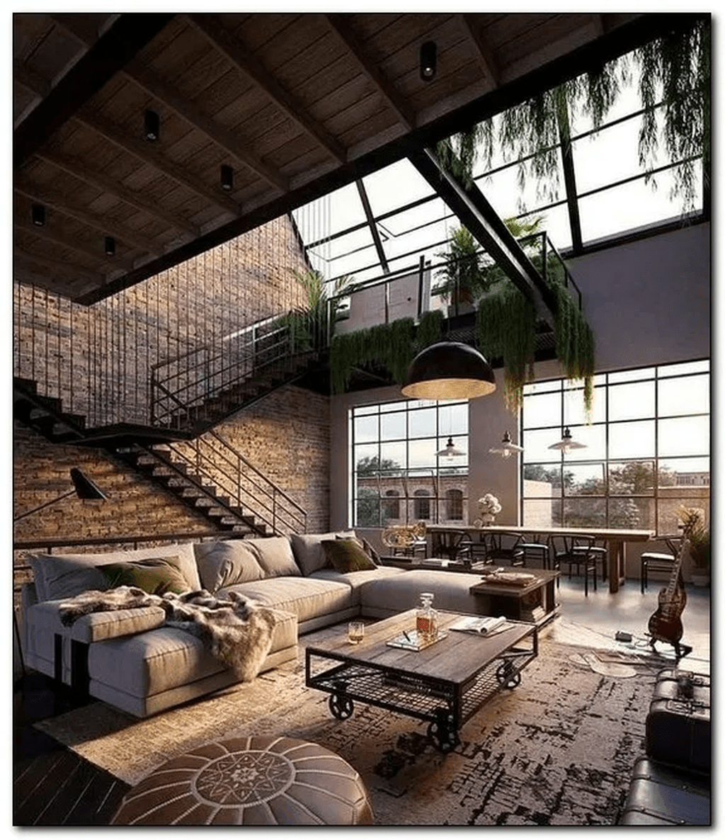 Awesome Loft Apartment Decorating Ideas 03