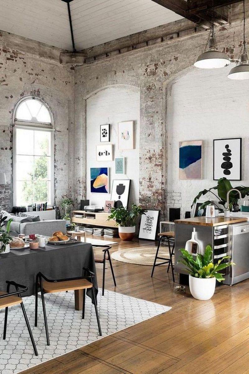 Awesome Loft Apartment Decorating Ideas 04