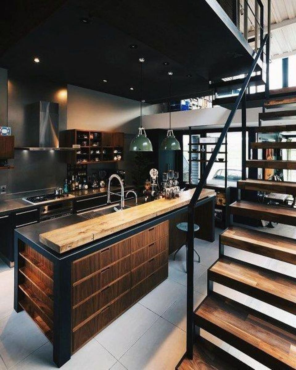 Awesome Loft Apartment Decorating Ideas 34