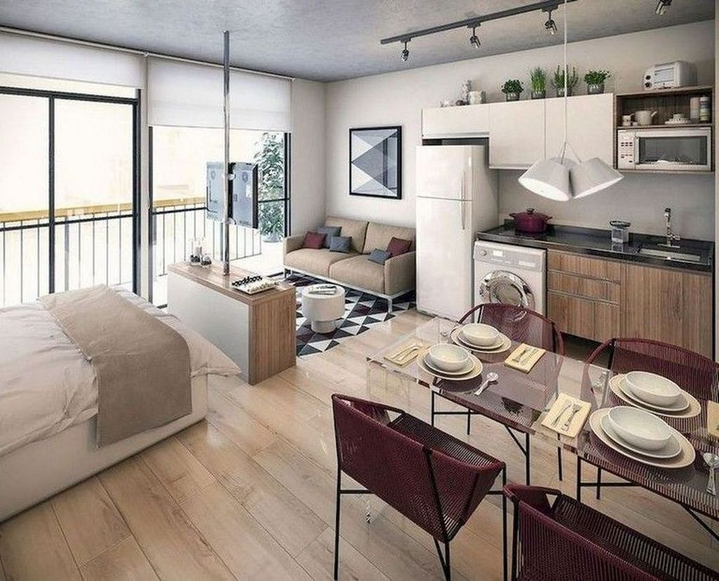 Cool Studio Apartment Ideas You Never Seen Before 03