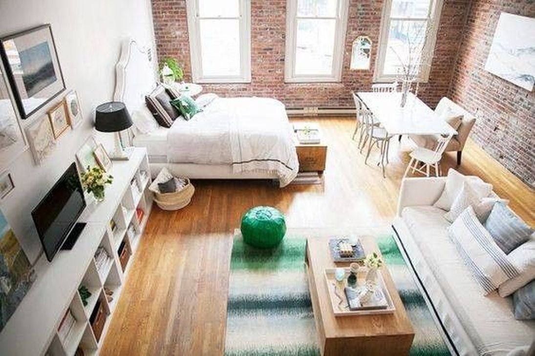 Cool Studio Apartment Ideas You Never Seen Before 08