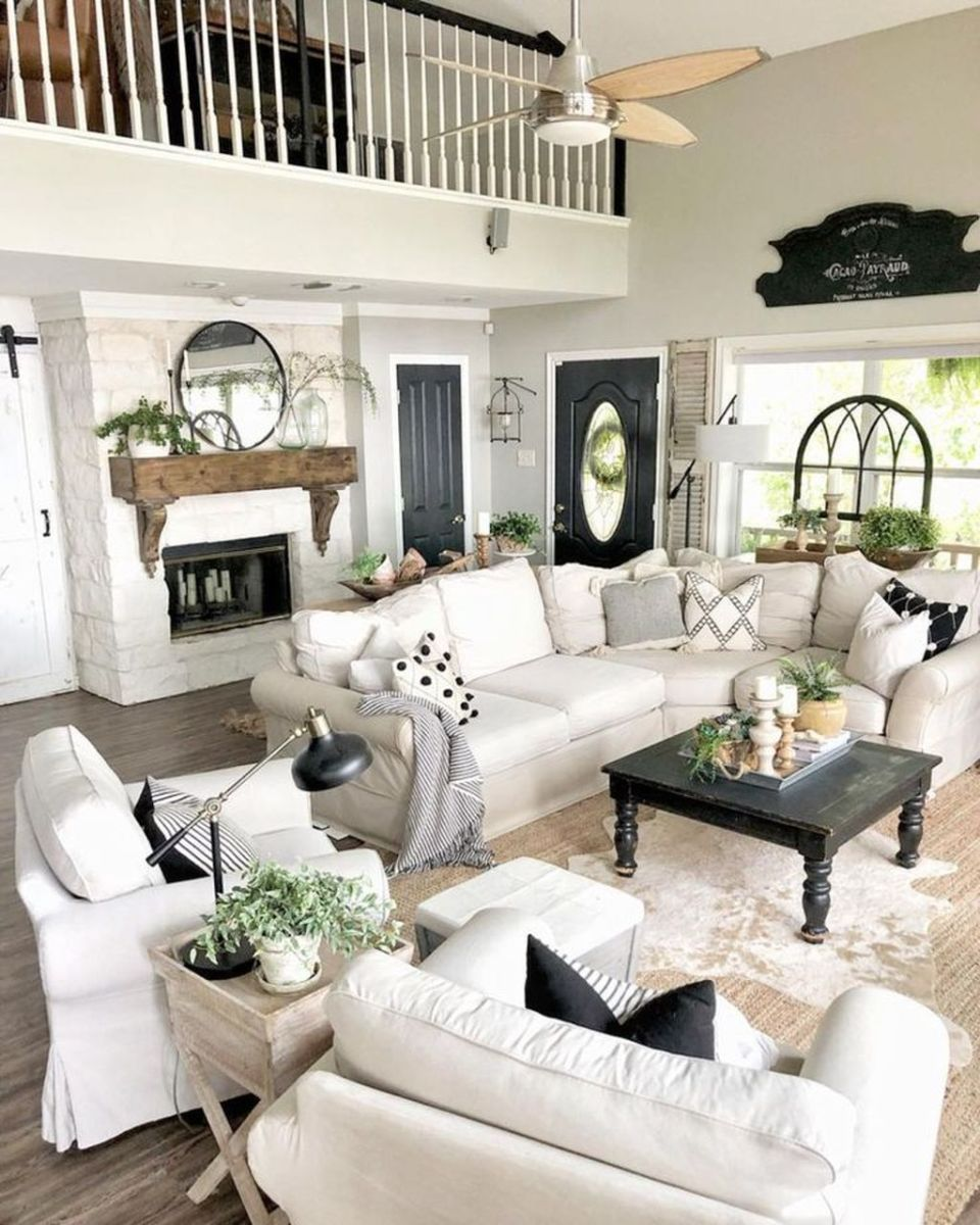 Fabulous Country Living Room Designs Ideas You Will Love 25