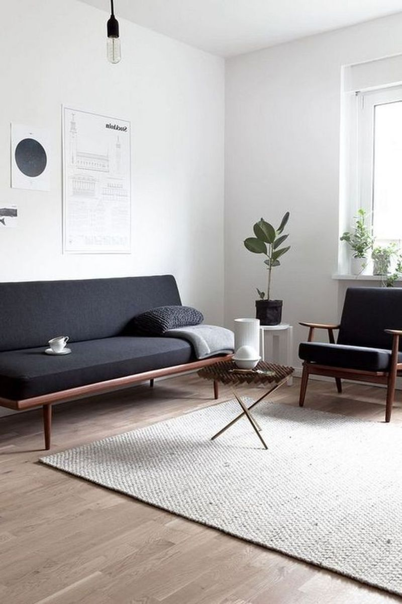 Fascinating Small Apartment Living Room Decor Ideas 10