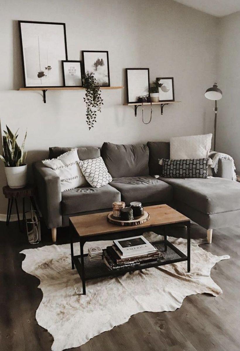 Fascinating Small Apartment Living Room Decor Ideas 12