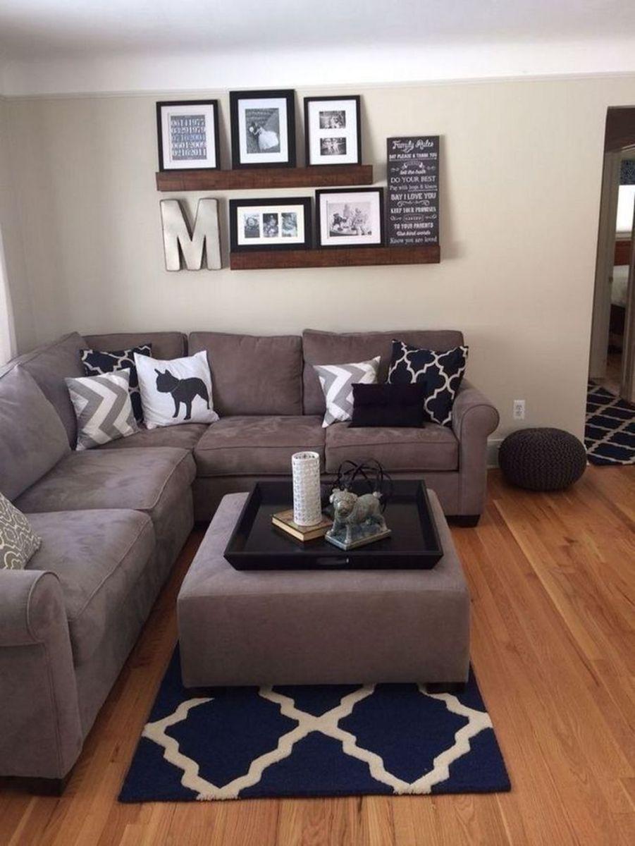 Fascinating Small Apartment Living Room Decor Ideas 15