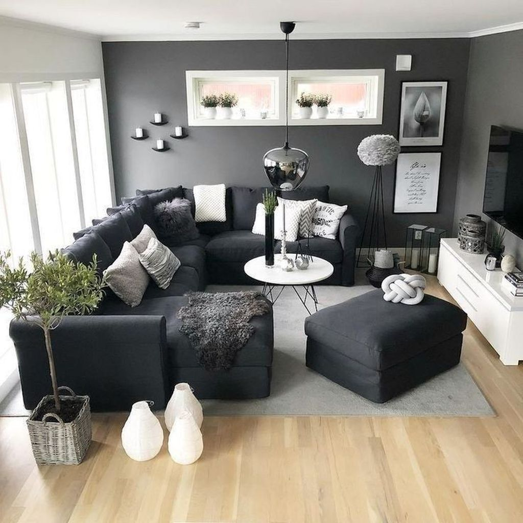 Fascinating Small Apartment Living Room Decor Ideas 17