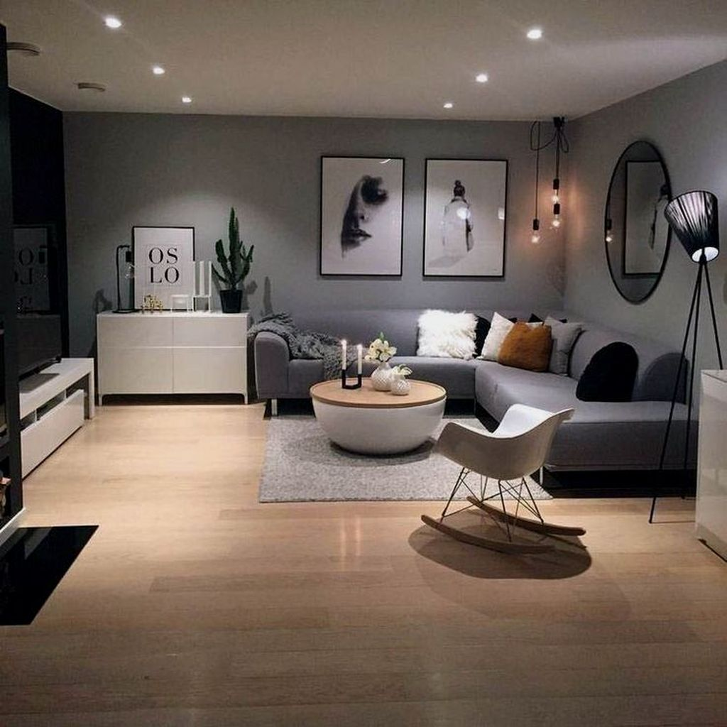 Fascinating Small Apartment Living Room Decor Ideas 23