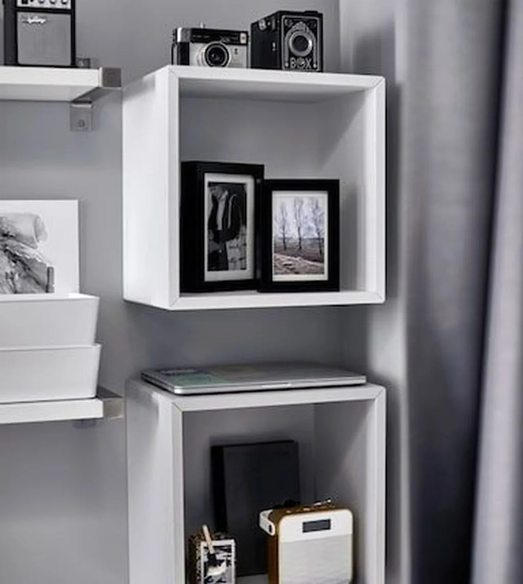 Fascinating Small Living Room Cabinet Design Ideas 09