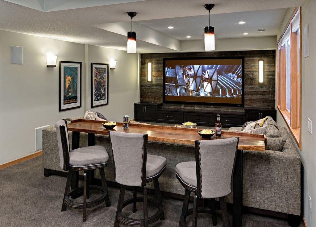 Gorgeous Basement Living Room Ideas You Definitely Like 01