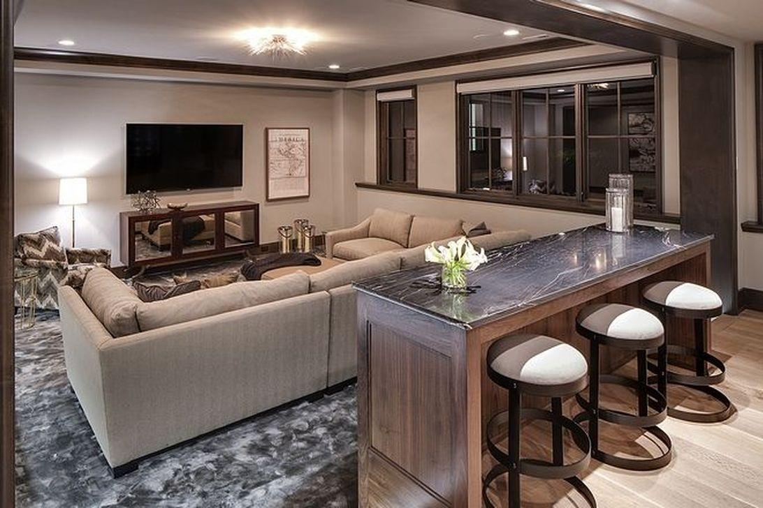 Gorgeous Basement Living Room Ideas You Definitely Like 03