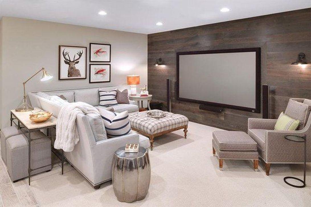 Gorgeous Basement Living Room Ideas You Definitely Like 17