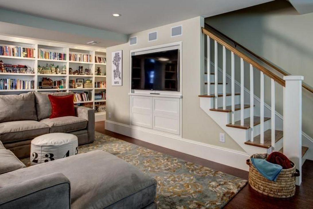 Gorgeous Basement Living Room Ideas You Definitely Like 18