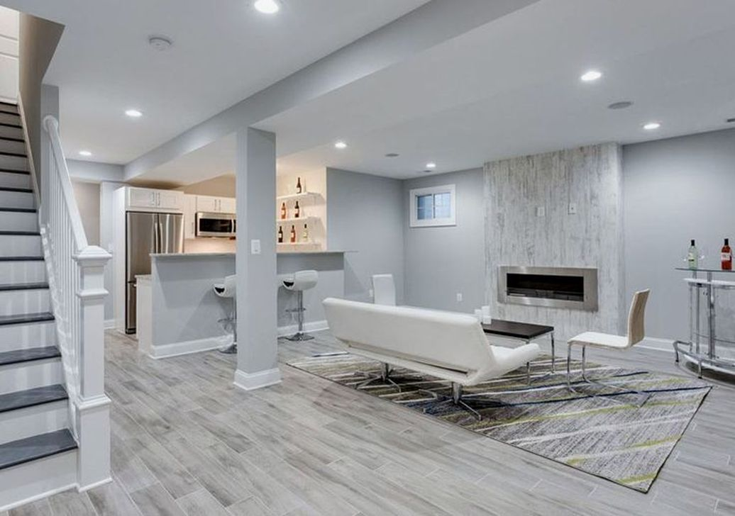 Gorgeous Basement Living Room Ideas You Definitely Like 19