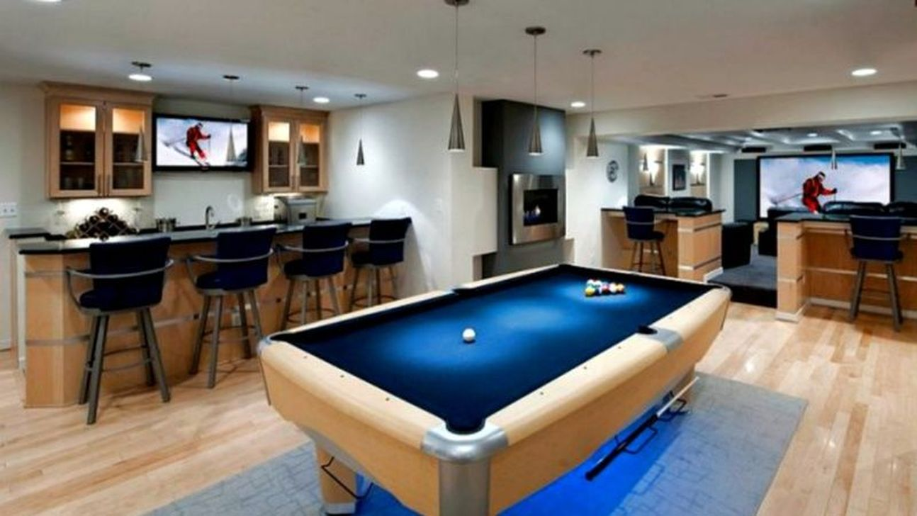 Gorgeous Basement Living Room Ideas You Definitely Like 22