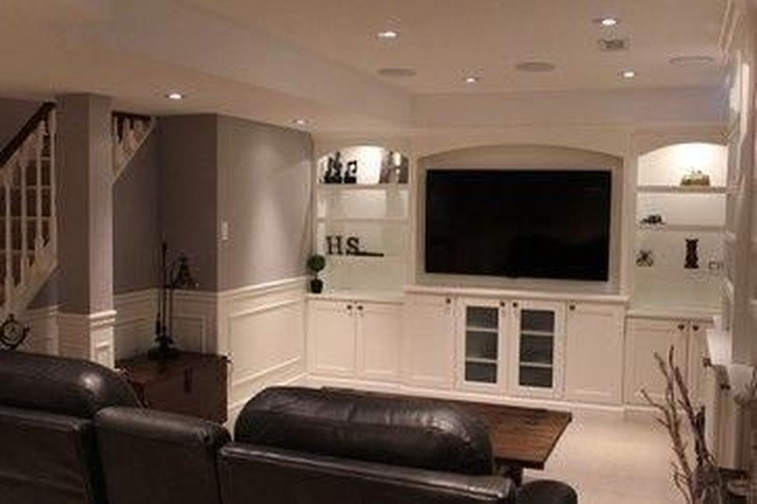 Gorgeous Basement Living Room Ideas You Definitely Like 26