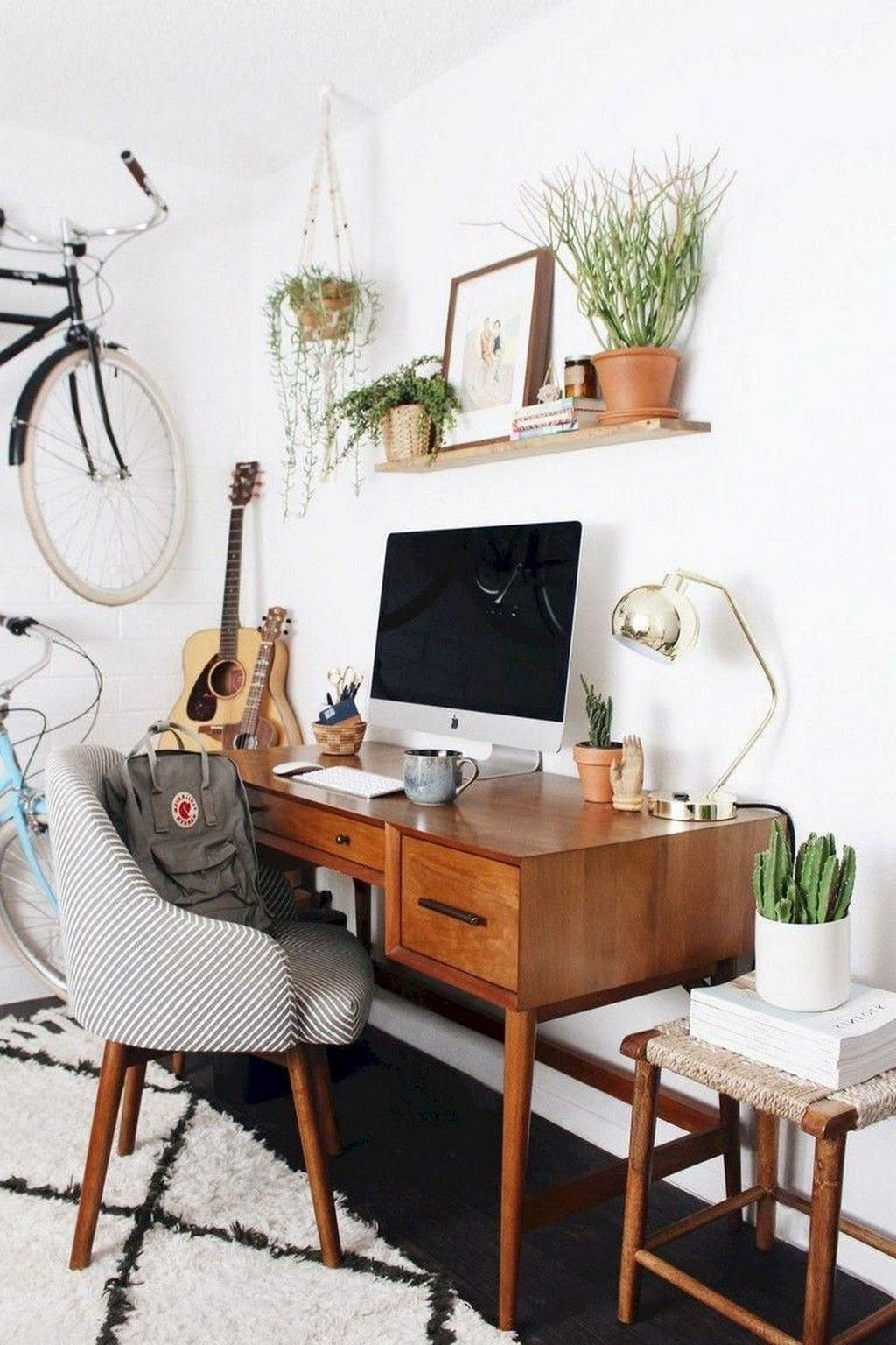 Inspiring Small Office Ideas For Small Space 07