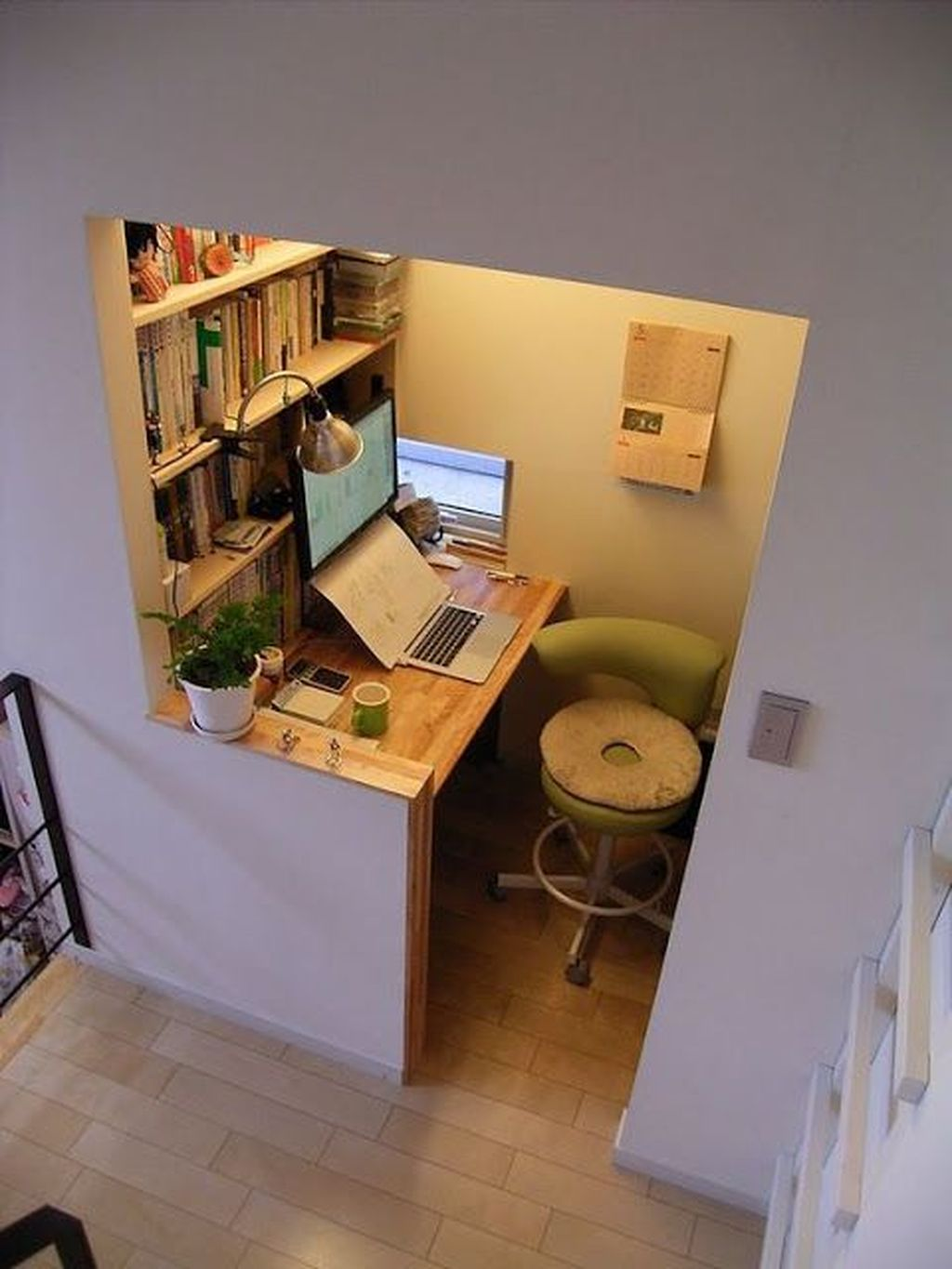 Inspiring Small Office Ideas For Small Space 17