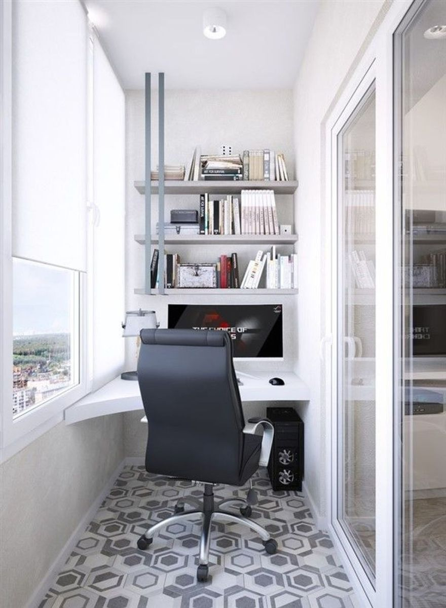 Inspiring Small Office Ideas For Small Space 20