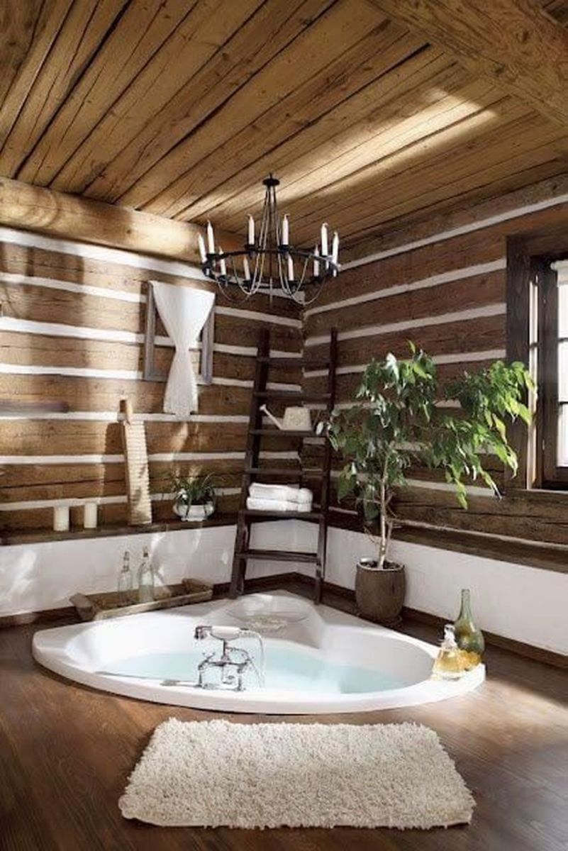Inspiring Spa Bathroom Decor Ideas 19