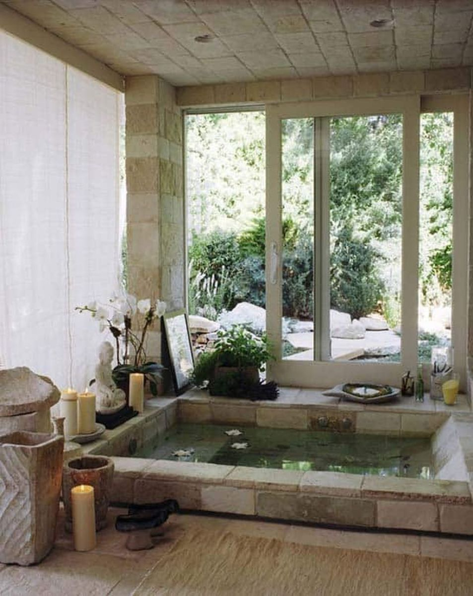 Inspiring Spa Bathroom Decor Ideas 26