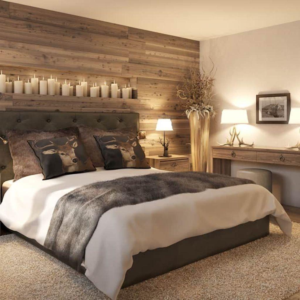 Lovely Rustic Bedroom Design Ideas 20