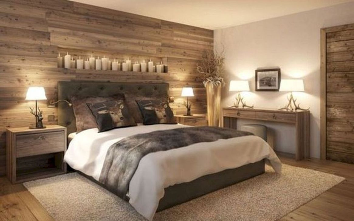Lovely Rustic Bedroom Design Ideas 22