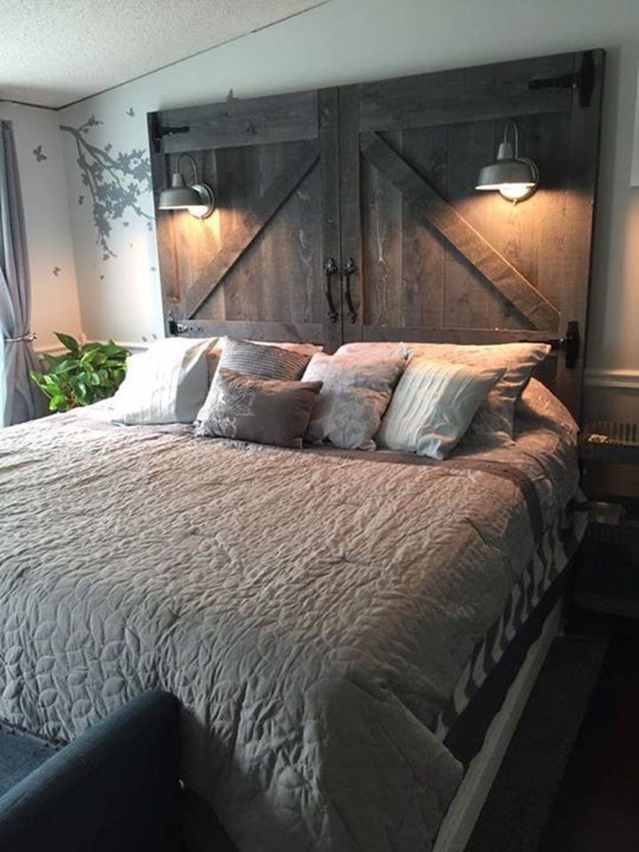 Lovely Rustic Bedroom Design Ideas 32