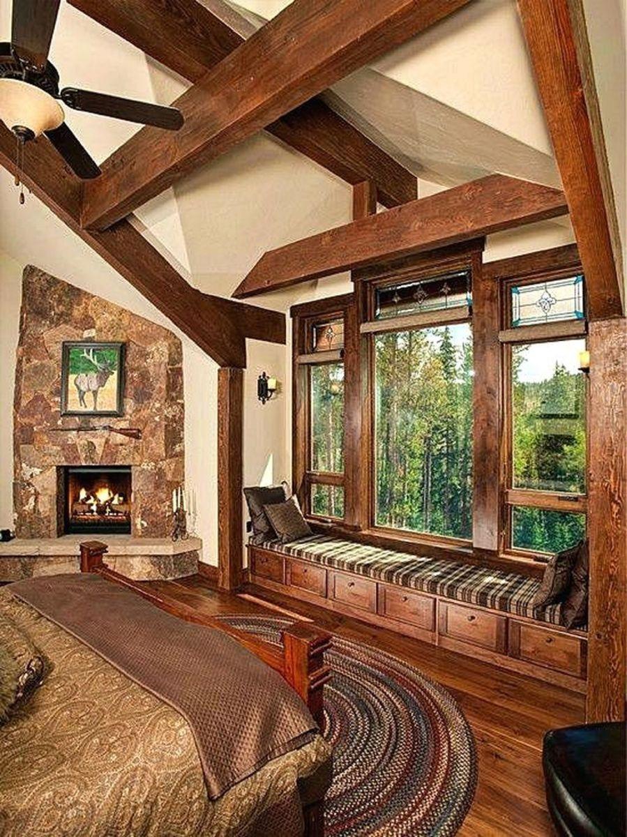 Lovely Rustic Bedroom Design Ideas 35