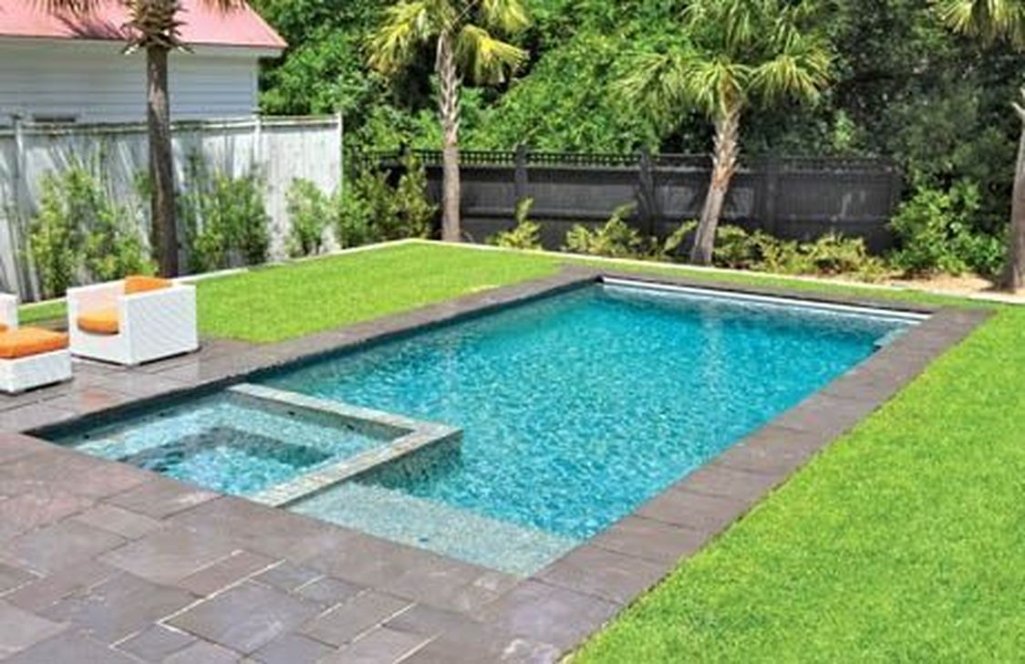 Stunning Backyard Pool Landscaping Ideas 02