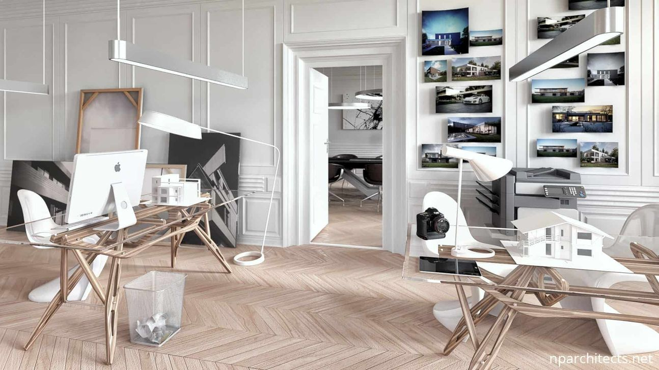 Stunning Contemporary Office Design Ideas 16