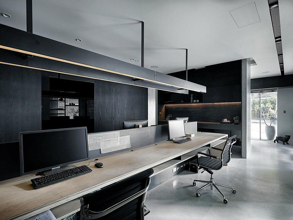 Stunning Contemporary Office Design Ideas 23