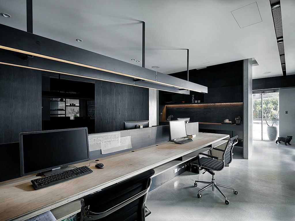 Stunning Contemporary Office Design Ideas 23