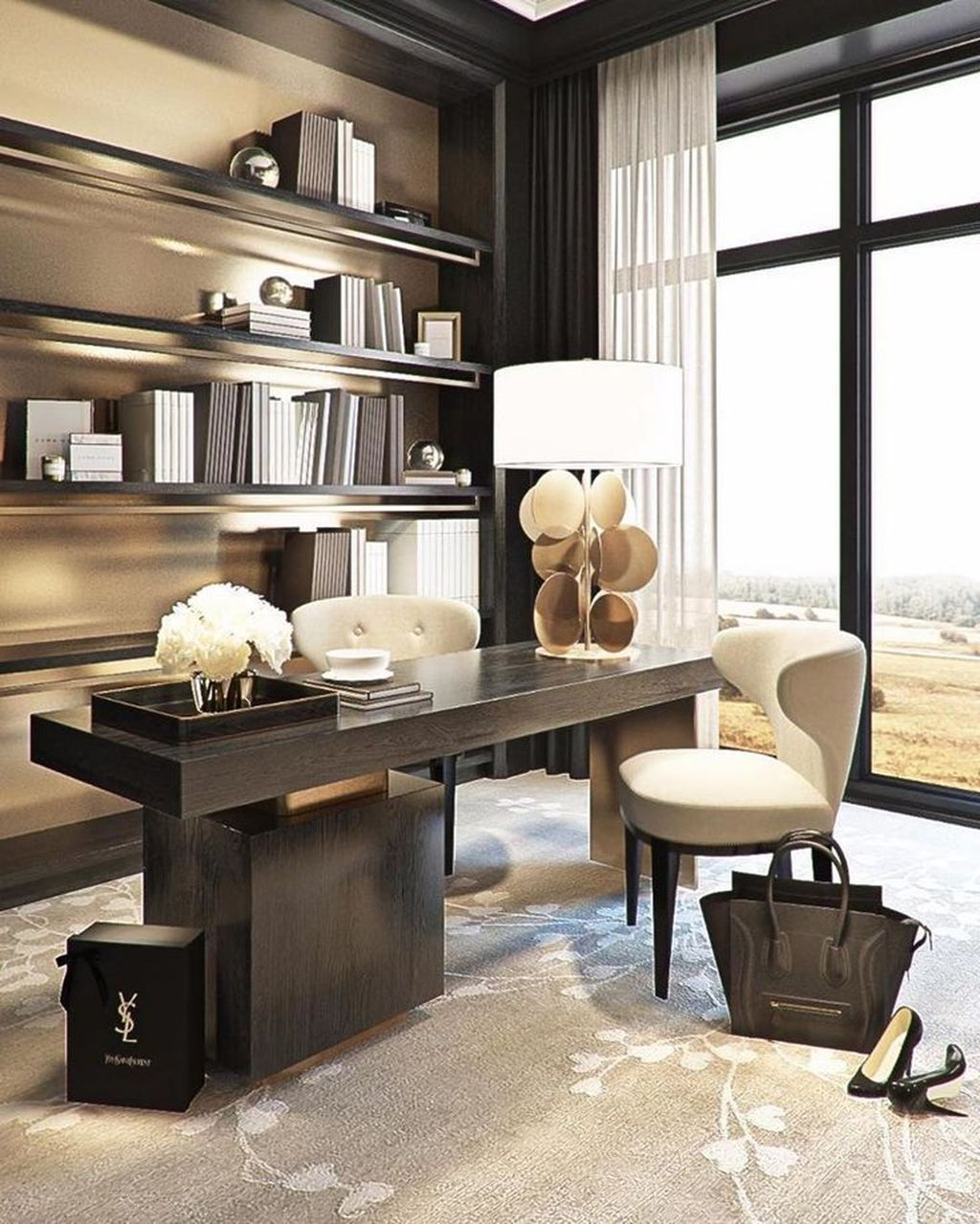 Stunning Contemporary Office Design Ideas 31