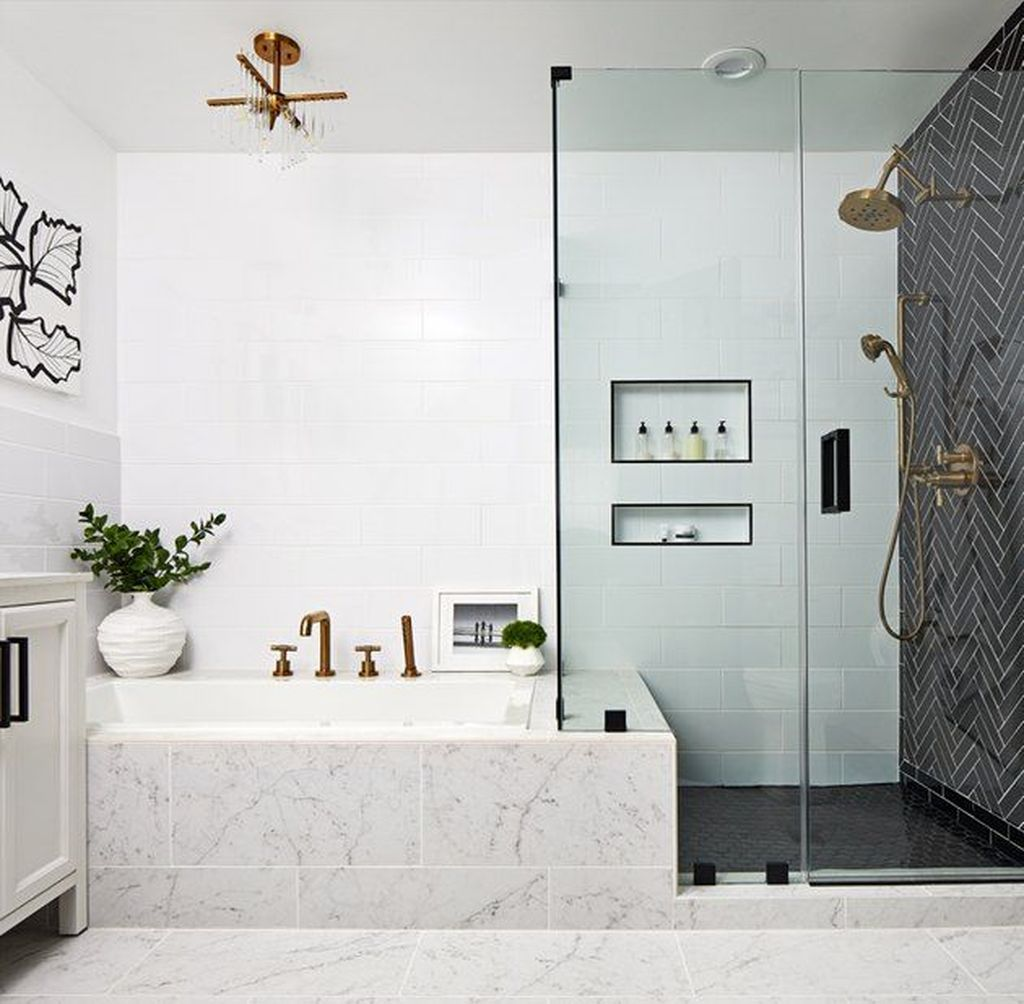 The Best Bathroom Shower Tub Ideas You Must Have 13