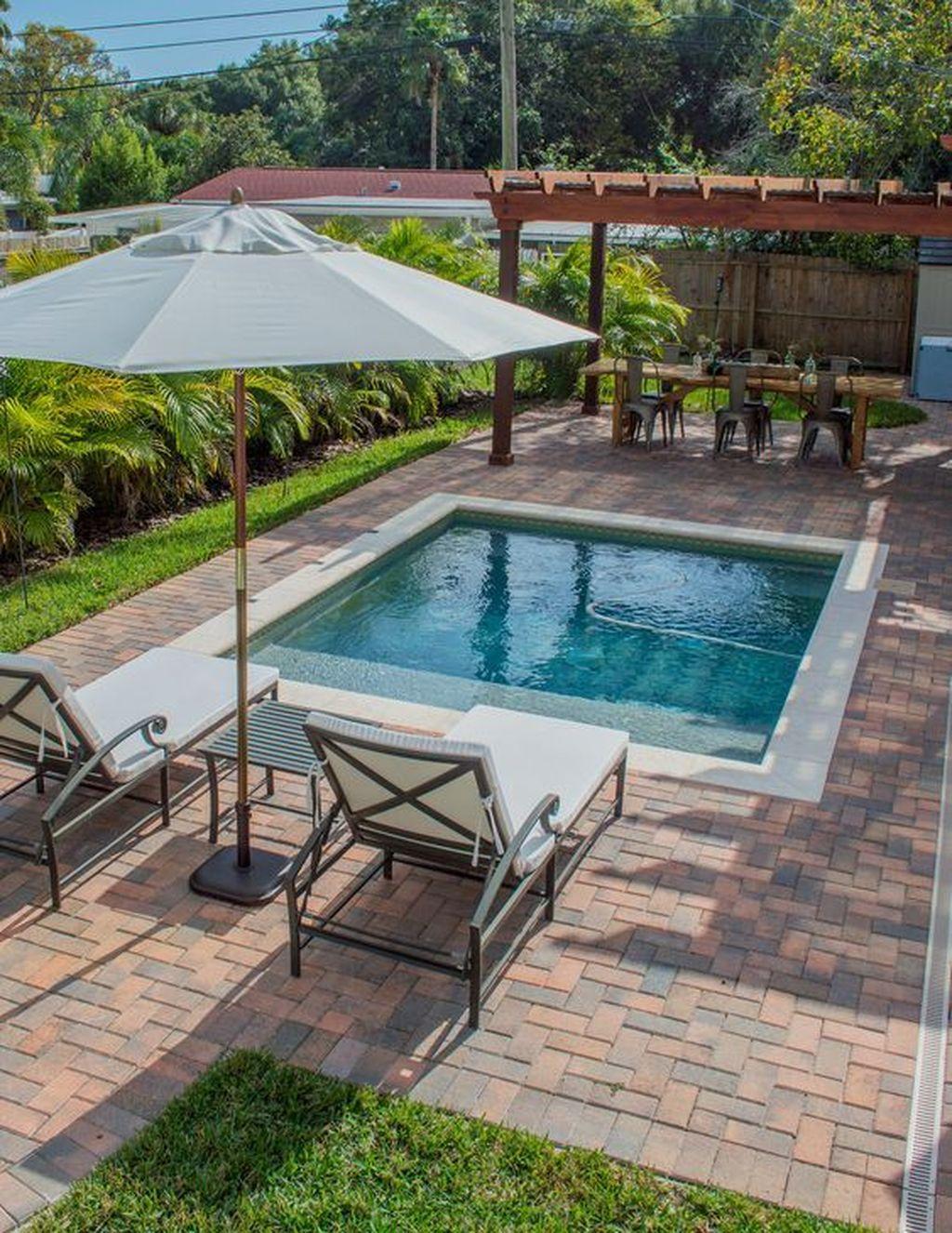 Admirable Small Swimming Pool Designs Ideas 28