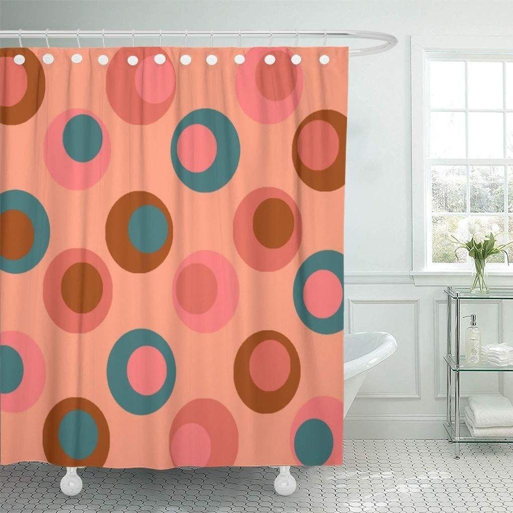 Affordable Coral Color Bathroom Decor Ideas 05