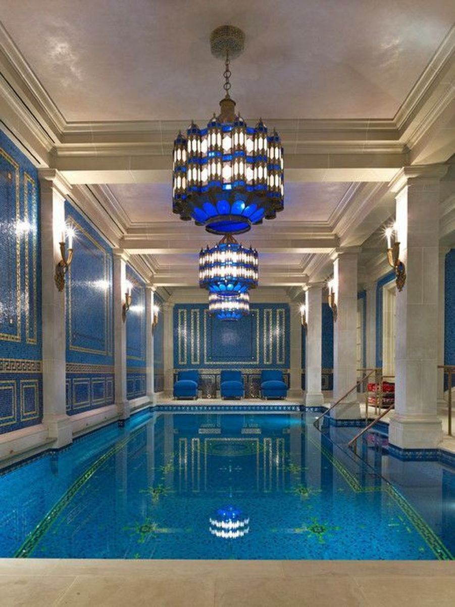 Beautiful Modern Indoor Pool Design Ideas You Must Have 09 1
