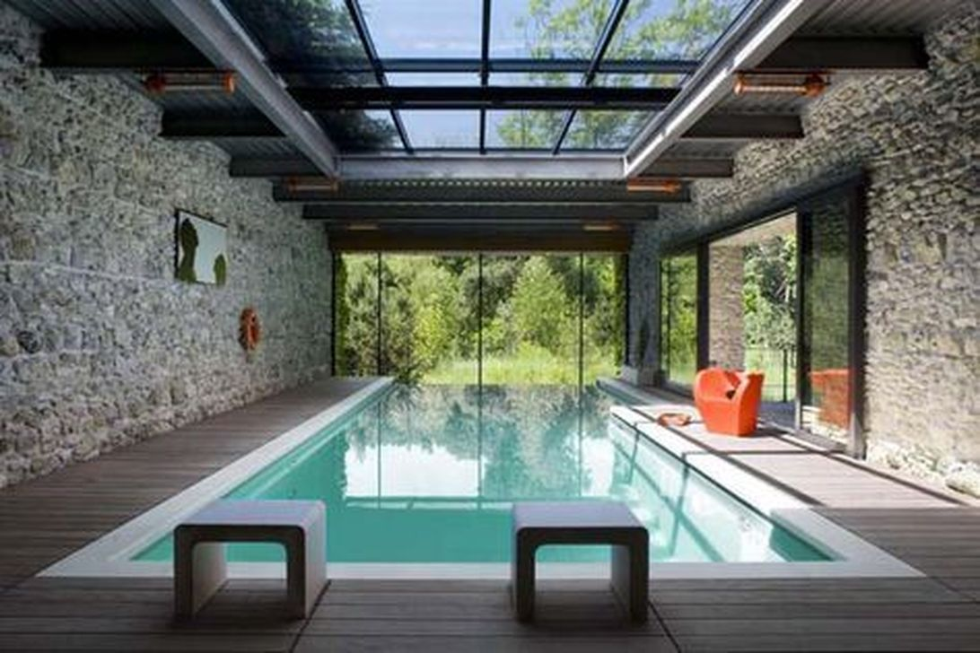 Beautiful Modern Indoor Pool Design Ideas You Must Have 15 1