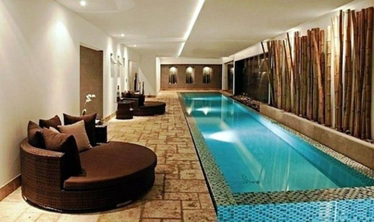 Beautiful Modern Indoor Pool Design Ideas You Must Have 36