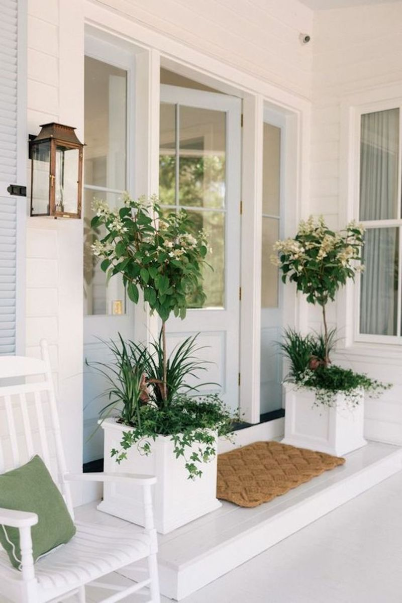Beautiful Summer Planters Ideas For Front Door Decor 07 1