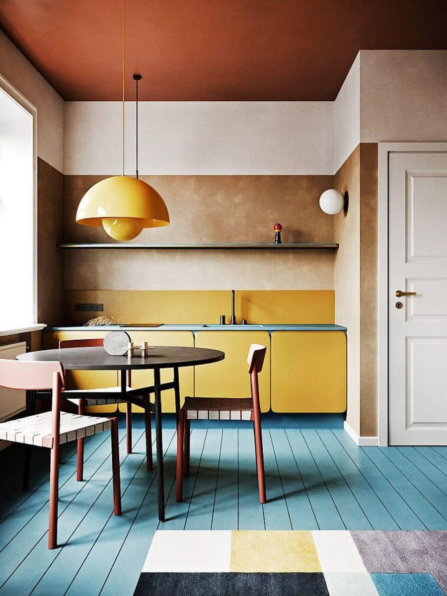 Charming Yellow Interior Design Ideas Best For Summer 09