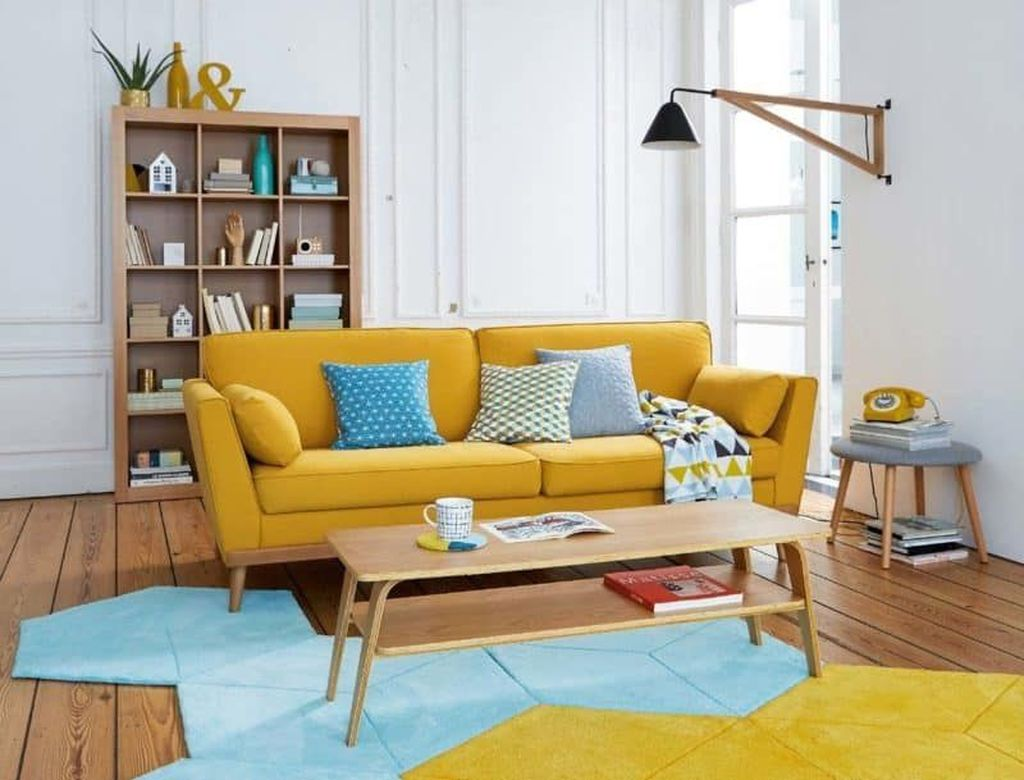 Charming Yellow Interior Design Ideas Best For Summer 12