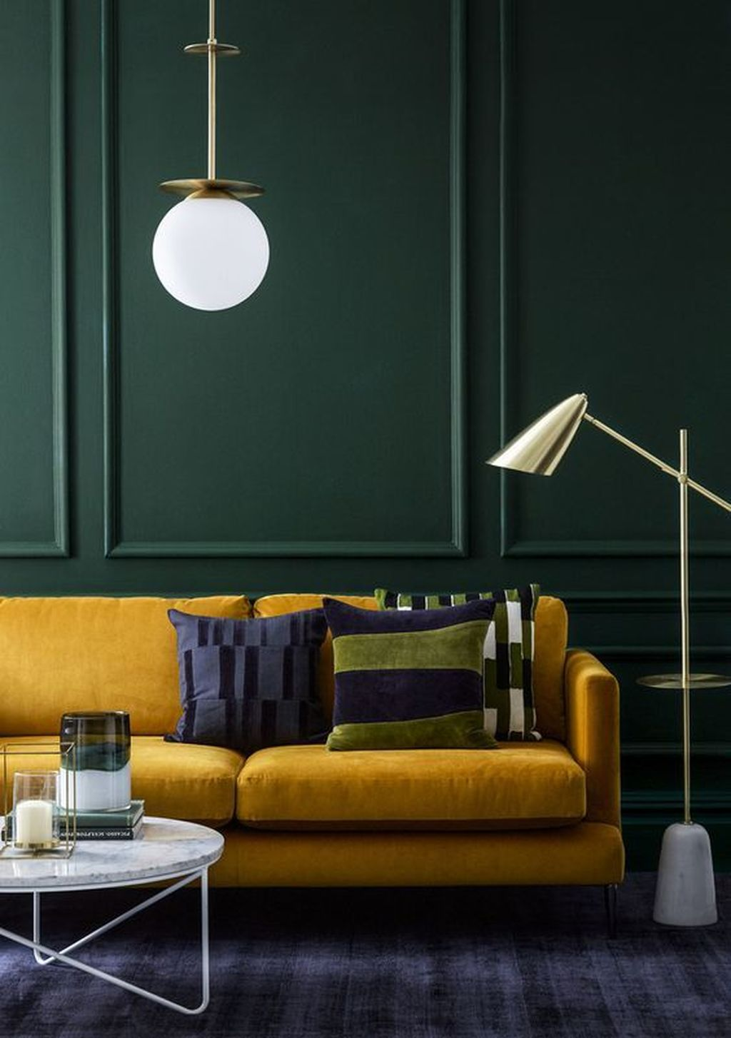 Charming Yellow Interior Design Ideas Best For Summer 18