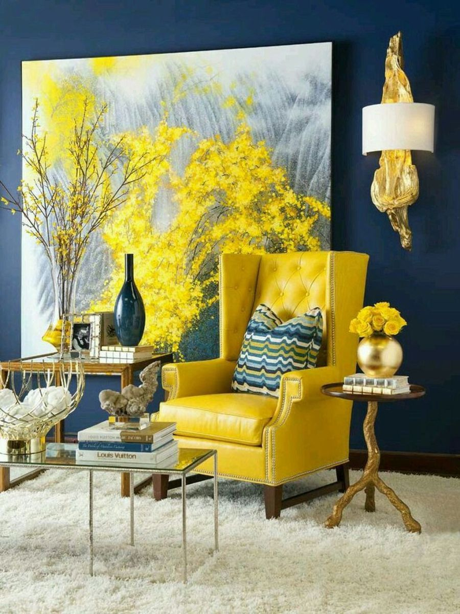 Charming Yellow Interior Design Ideas Best For Summer 20