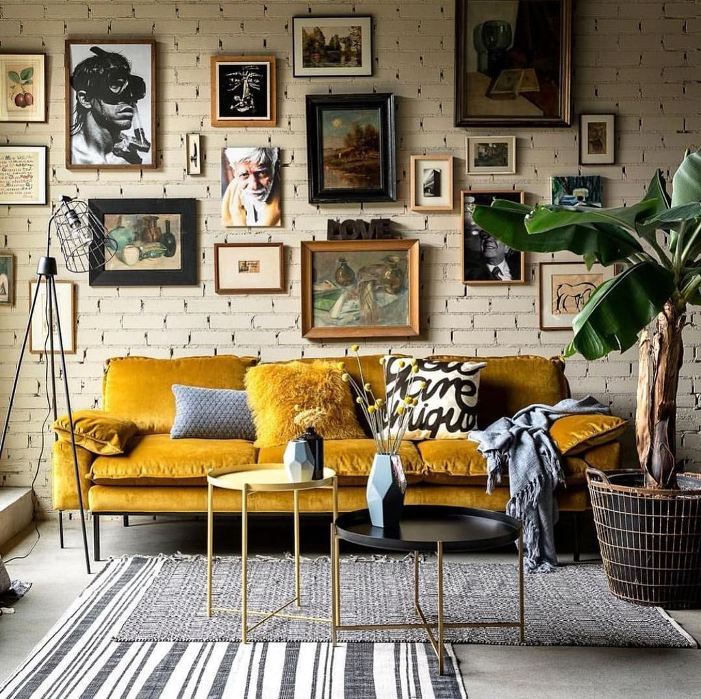 Charming Yellow Interior Design Ideas Best For Summer 21